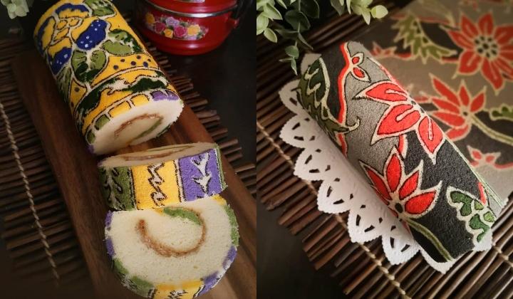 These M Sian Made Raya Batik Swiss Rolls Are So Beautiful Theyâ Re Viral Trp
