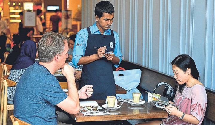 service charge Malaysia