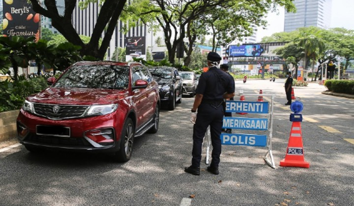 6 Malaysian Police Officers Tested Positive For COVID-19, 335 ...
