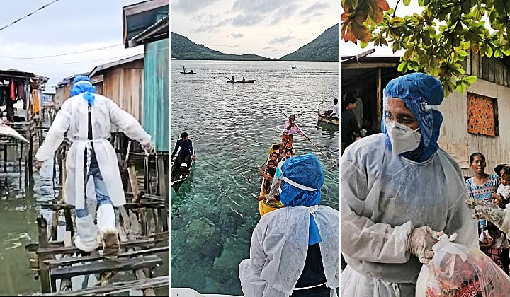 These Incredible Malaysians Are On Mission To Save Starving Bajau Laut Communities In Sabah During MCO - The Rakyat Post